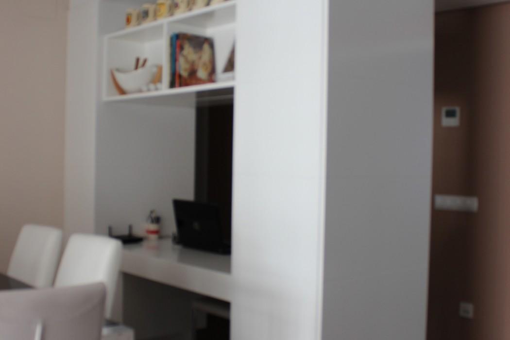 Mueble escritorio separador