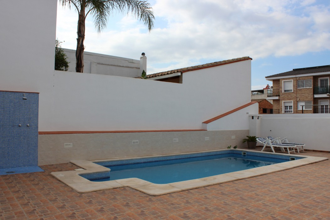 Patio exterior - piscina