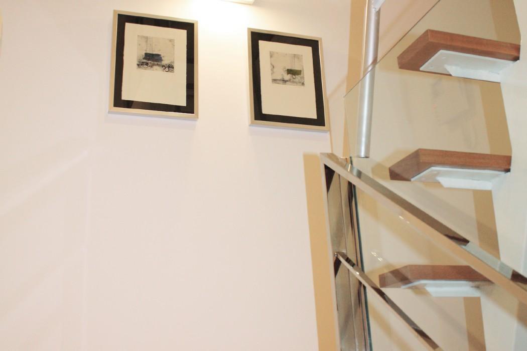 dormitorio escalera a buhardilla